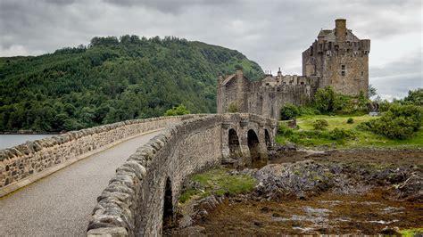 4k Harry Potter Wallpaper Eilean Donan Castle Das Highlander Schloss