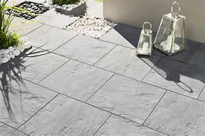 Dalle Pierre Terrasse : dalle de terrasse pierre eclat e alkern ~ Preciouscoupons.com Idées de Décoration