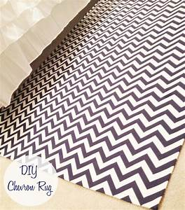 Diy chevron rug the monogrammed life for Diy fabric carpet