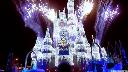 Disney Christmas Frozen Park Going Fireworks Magic