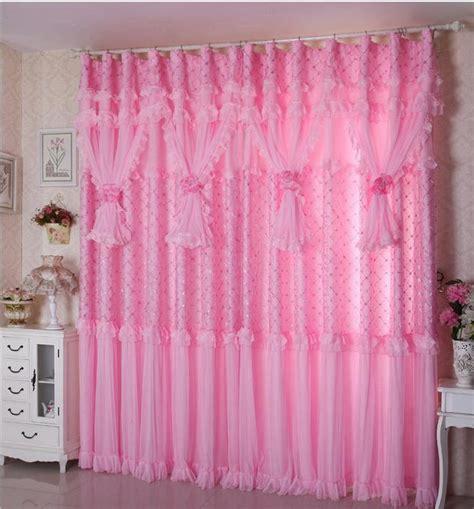 window lace curtains custom made luxury valances korean