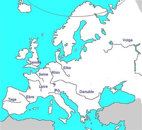 Carte Des Fleuves Du Monde Exercice by Les Fleuves Europ 233 Ens