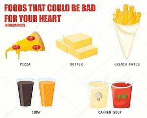 Bad Foods For Your Heart Food Ideas