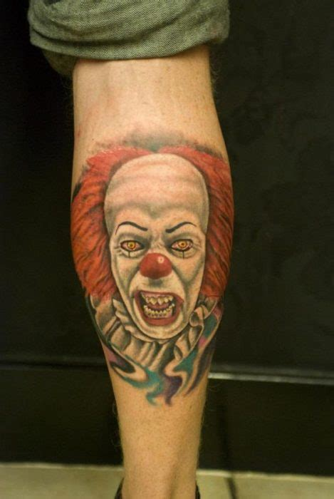 selected scary clown tattoos parryzcom