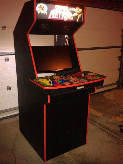 arcade cabinet plans 32 lcd lcd widescreen arcade cabinet mame cabinets