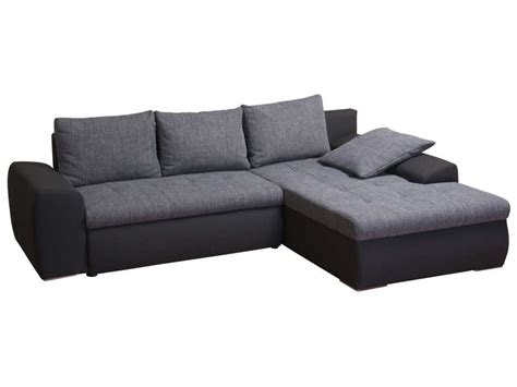 canapé vigo conforama canapé d 39 angle convertible et réversible 5 places en tissu