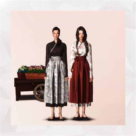 Modernize Hanbok Korean Traditional Dress At Gorilla