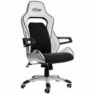 Gaming Stuhl Stoff : e220 evo gaming stuhl wei schwarz nitro concepts ~ Lateststills.com Haus und Dekorationen