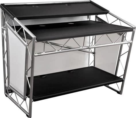 mobiler dj tisch liteconsole xprs aluminium mobiler dj tisch g 252 nstig