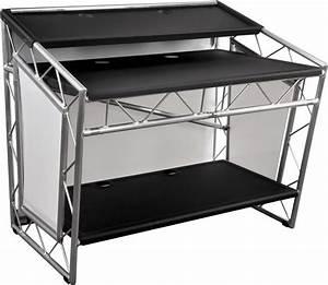 liteconsole xprs aluminium mobiler dj tisch g nstig With mobiler dj tisch