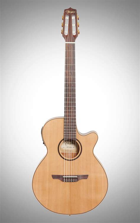 Takamine TSP148N Thinline Nylon Acoustic-Electric Guitar