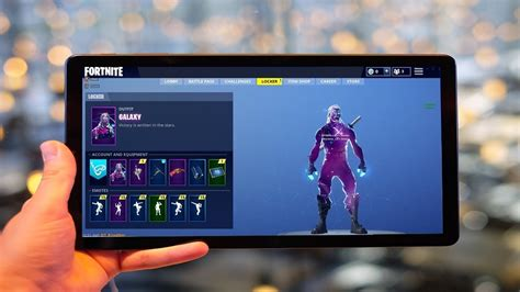 fortnite item shop   galaxy tab