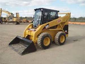 Caterpillar 252b Skid Steer Loader Scp Electrical And