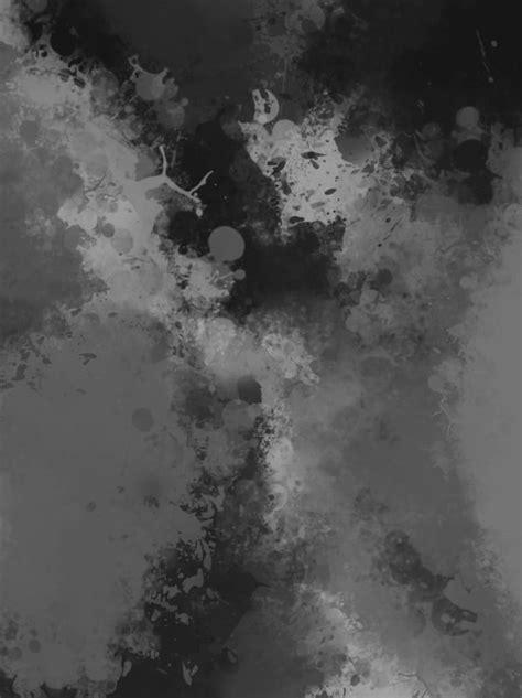black  white gray watercolor background black