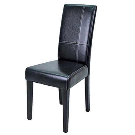 chaise salle a manger noir chaise de salle à manger guevara dya shopping fr