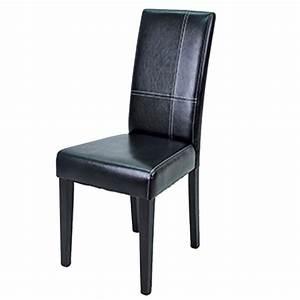 Chaise Salle A Manger Noir : chaise de salle a manger noir ~ Teatrodelosmanantiales.com Idées de Décoration
