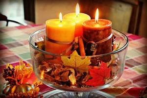 Deko Ideen Kerzen Im Glas : herbst deko basteln kerzen f r elegante beleuchtung ~ Bigdaddyawards.com Haus und Dekorationen