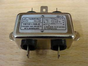 Emi Chassis Mount Filter 10a