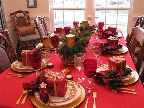 Decorating Your Christmas Table Ideas Wwwindiepediaorg