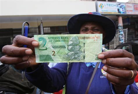 zimbabwes  currency      bond notes