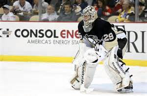 Marc-Andre Fleury Shuts Out Red Wings 2-0