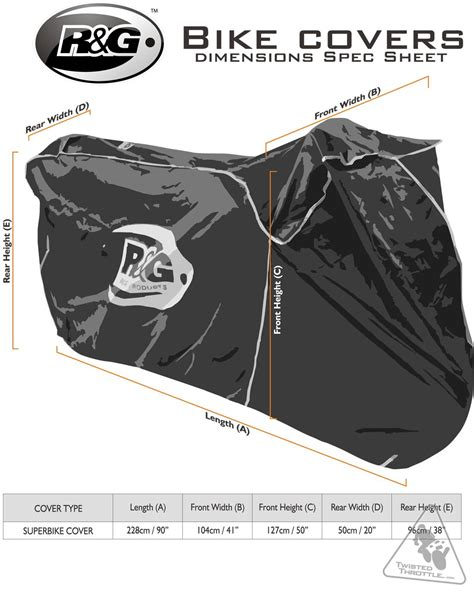 R&g Waterproof Motorcycle Cover For Supersport And Naked
