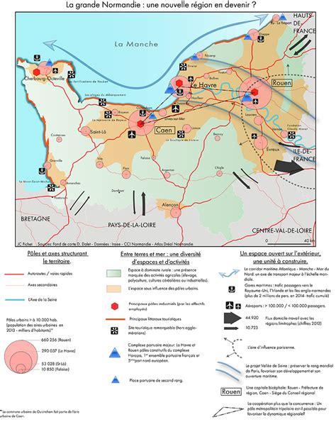 Carte Region Normandie by Un Croquis Sur La Nouvelle R 233 Gion Normandie