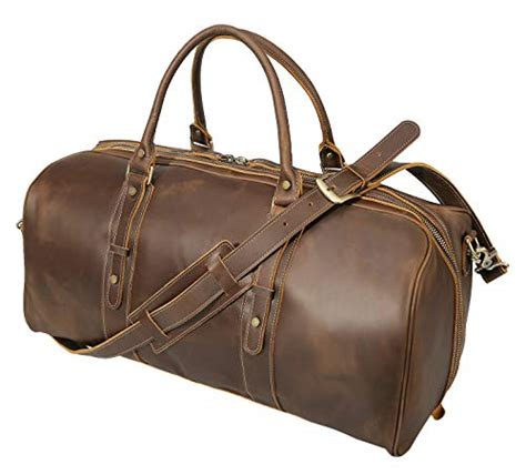 Cowhide Overnight Bag - s travel duffels grain cowhide leather large