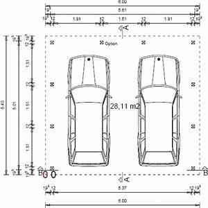 Dimension Garage 1 Voiture : dimension garage pour 2 voitures ~ Dailycaller-alerts.com Idées de Décoration