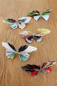 Fabriquer Un String : bastelideen mit papier falter falten ~ Zukunftsfamilie.com Idées de Décoration