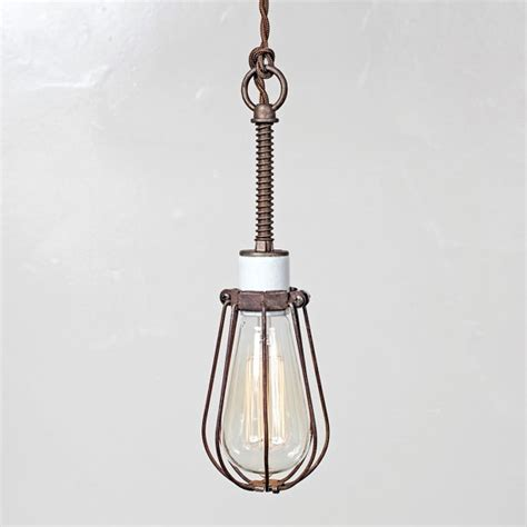 oval bulb cage light pendant light industrial hanging