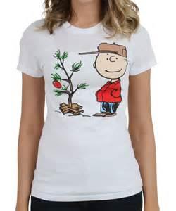 womens charlie brown christmas tree t shirt