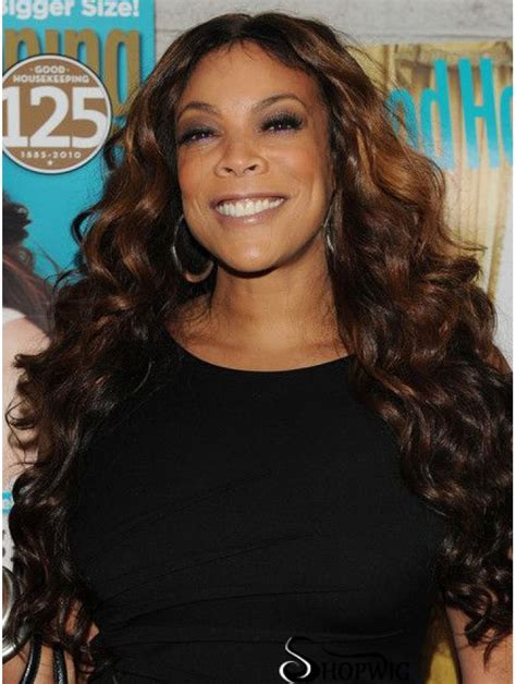 Without Bangs Wavy Brown 26 Fabulous Wendy Williams Wigs