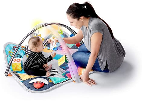baby einstein sensory play space discovery activity gym