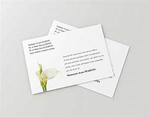 Mettre Une Annonce Gratuite : carte remerciement d c s faire part de deuil personnalis en ligne ~ Medecine-chirurgie-esthetiques.com Avis de Voitures