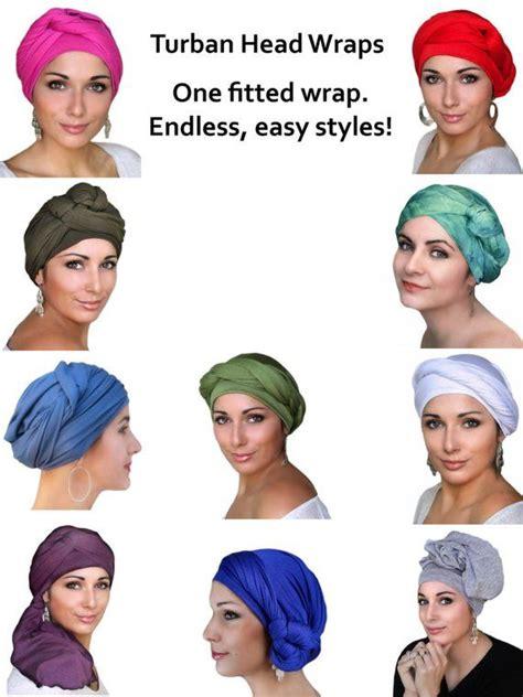 white turban head wrap chemo hat alopecia scarf hijab