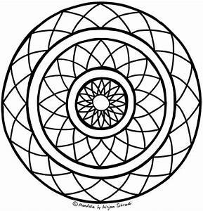 Sternfrmiges Mandala Fr Kinder Ab 8 MandalaMalspiel