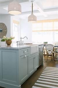 2 Light Bar Pendant Inspiring White Kitchen With Light Blue Island Home