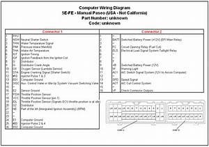 Datos Tecnicos Y Diagrama Del Motor 5e