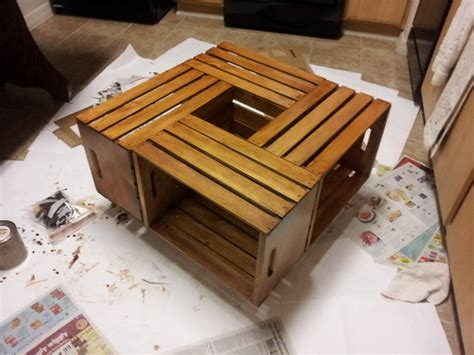 Pin on decor ideas diy farmhouse coffee table wine crate wooden the love d i y build a using crates rustic an upcycle that wood free plans pallet and 101. 20 DIY Wooden Crate Coffee Tables | Guide Patterns