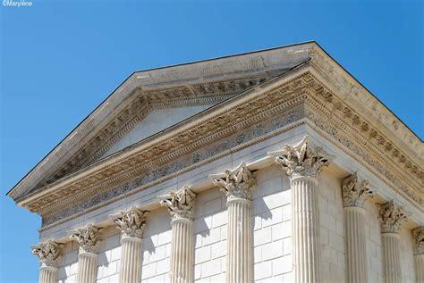 maison du monde nimes maison carree de nimes le seul temple antique au monde int 233 gralement conserv 233 avignon et provence