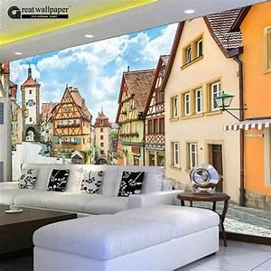 Aliexpress.com : Buy Great wall Modern 3D Cartoon city ...