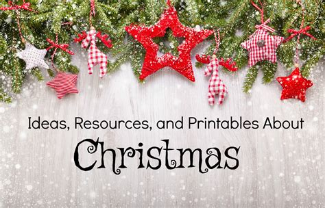 Ideas, Resources, And Printables About Christmas  Hip Homeschool Moms