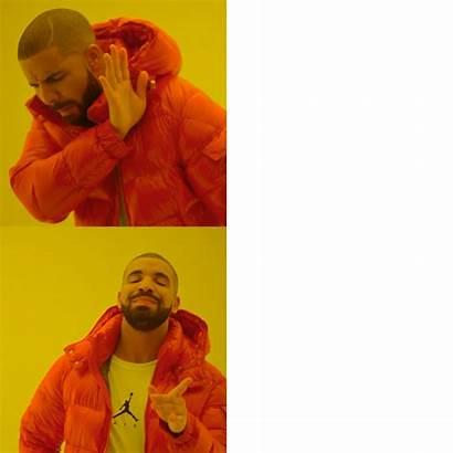 Hotline Bling Drake Meme Template Transparent Templates