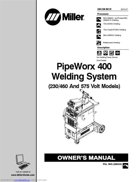 pipeworx_400 (1) | Welding | Electrical Wiring