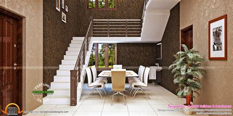 kerala home design  floor plans blue toned interiors