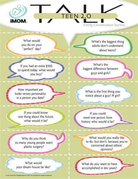 teen talk  imom