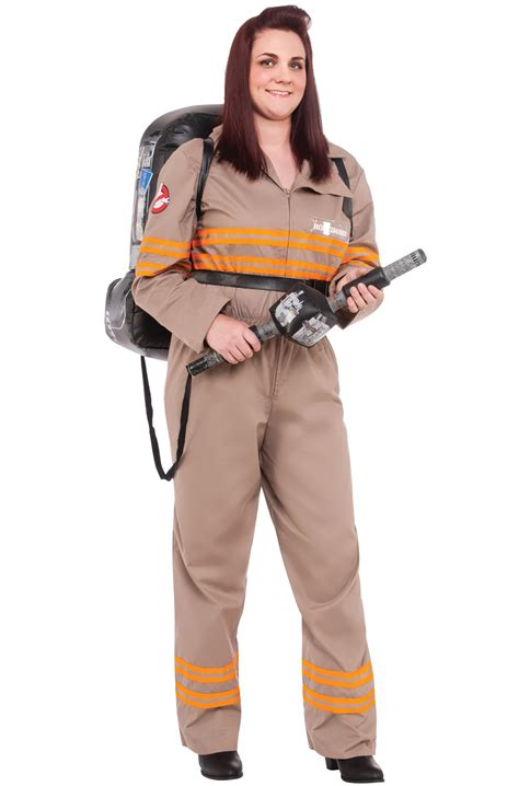 deluxe ghostbusters female  size costume