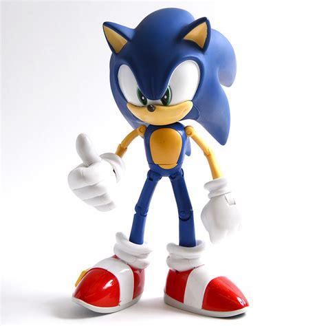 modern sonic  anniversary deluxe  action figure sonic  hedgehog tokyo otaku mode shop