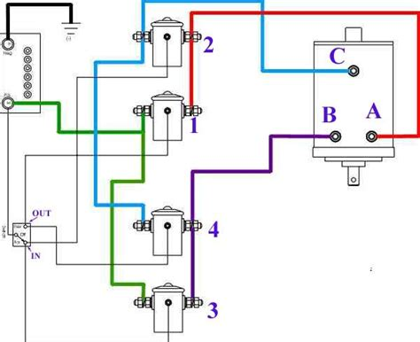2 Post Winch Motor Wiring Diagram by Need Help Wiring Winch If Someone Could Look My